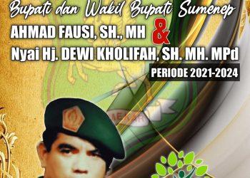 Marinus Asper BKPH Kangean Barat Mengucapkan Selamat dan Sukses atas Dilantiknya Achmad Fausi- Nyai Eva Sebagai Bupati Sumenep Periode 2021-2024
