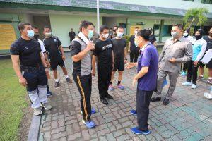 Sinergitas Pangdam V Brawijaya, Pangkoarmada II dan Kapolda Jatim Olah Raga Bersama Untuk Menjaga Imunitas