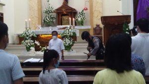 Polres Sumenep Bersama Kodim 0827 Mengamankan Jalannya Ibadah di Gereja Katholik Maria Gunung Karmel