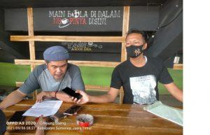 Badrul Aini : Pelatihan Wirausaha muda 2021 diduga Buang-buang Anggaran