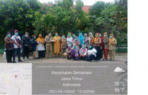 Dapat Kepercayaan Puskesmas Wonokusumo, SMP PGRI 6 Surabaya Siap bentuk 428 Heard Imunity